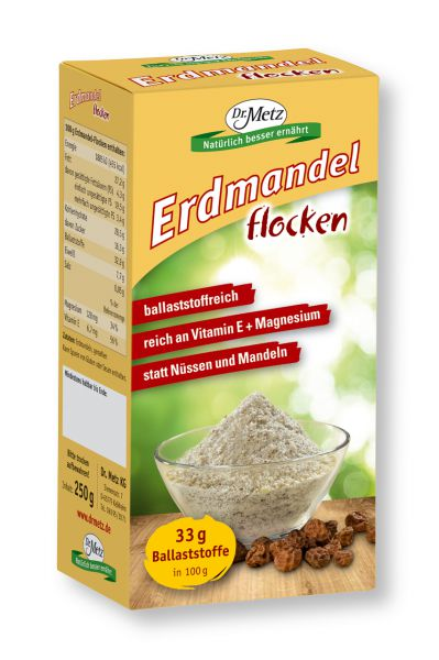 Erdmandel-Flocken